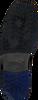 Zwarte FLORIS VAN BOMMEL Veterboots 10978  - small