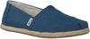 Blauwe TOMS Espadrilles CLASSIC ROPE SOLE - small