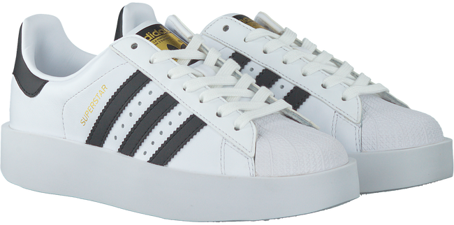 Witte ADIDAS Sneakers SUPERSTAR BOLD W