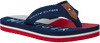 Blauwe TOMMY HILFIGER Slippers FLAG PRINT FLIP FLOP  - small