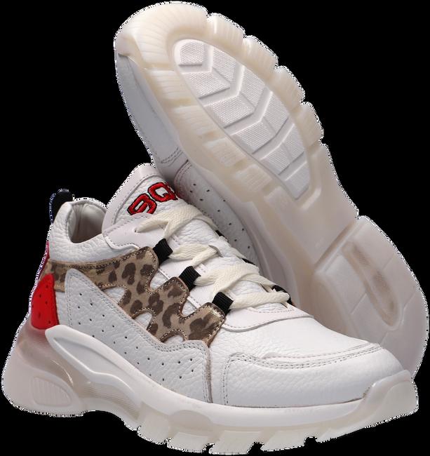 Witte BRAQEEZ Lage sneakers GWEN GENNA  - large