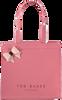 Roze TED BAKER Handtas RENACON - small