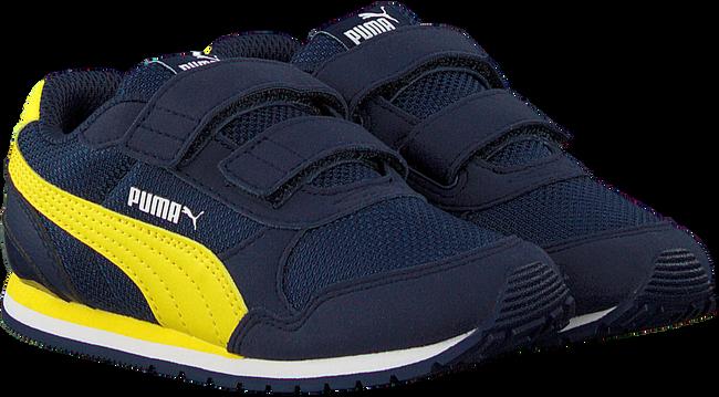 Blauwe PUMA Lage sneakers ST RUNNER V2 MESH J  - large