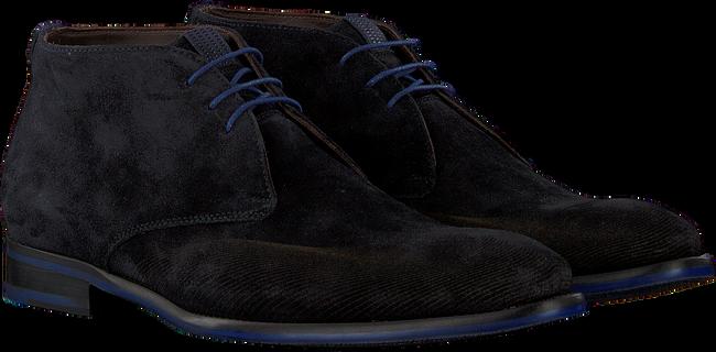Blauwe FLORIS VAN BOMMEL Nette schoenen 20376  - large