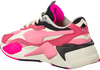 Roze PUMA Lage sneakers RS-X3 PUZZLE  - small