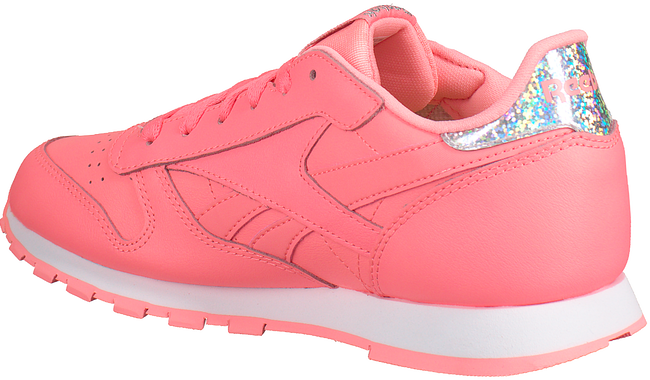 Roze REEBOK Sneakers CL LEATHER KIDS  - large