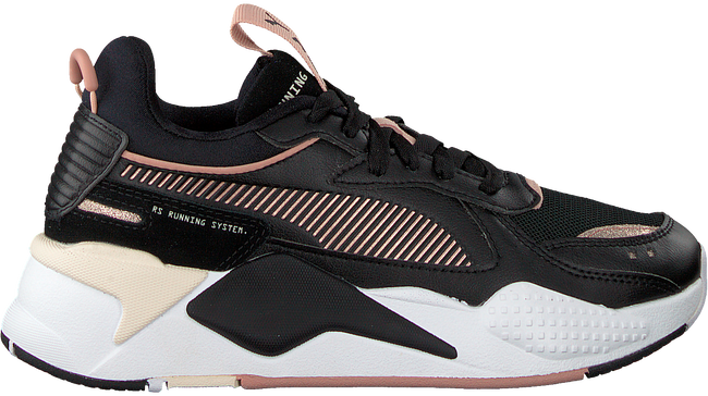 Zwarte PUMA Lage sneakers RS-X MONO METAL WN'S  - large
