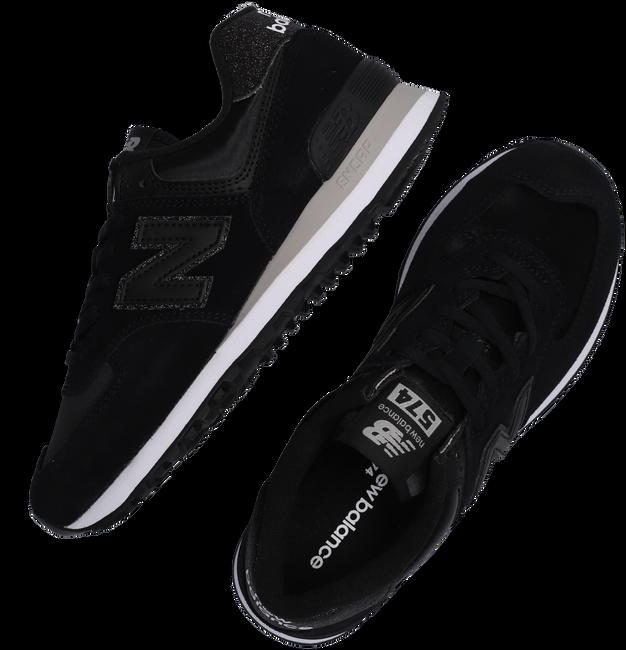 Zwarte NEW BALANCE Lage sneakers WL574  - large