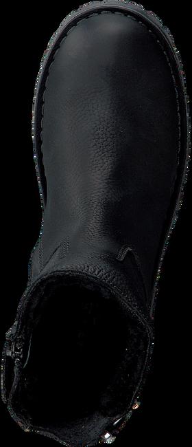 Zwarte GIGA Enkellaarsjes G3291  - large