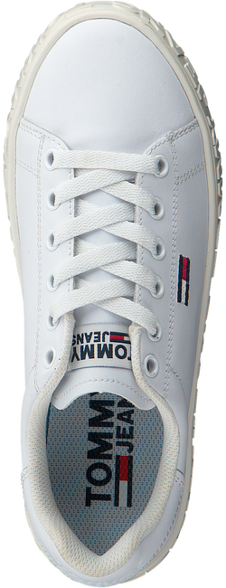 Witte TOMMY HILFIGER Lage sneakers COOL TOMMY JEANS SNEAKER WMNS  - large