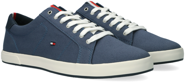 Blauwe TOMMY HILFIGER Lage sneakers ICONIC LONG LACE  - large