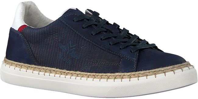Blauwe NZA NEW ZEALAND AUCKLAND Sneakers TAUPO II LIZARD - large