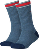 Blauwe TOMMY HILFIGER Sokken TH KIDS ICONIC SPORTS SOCK 2P - small