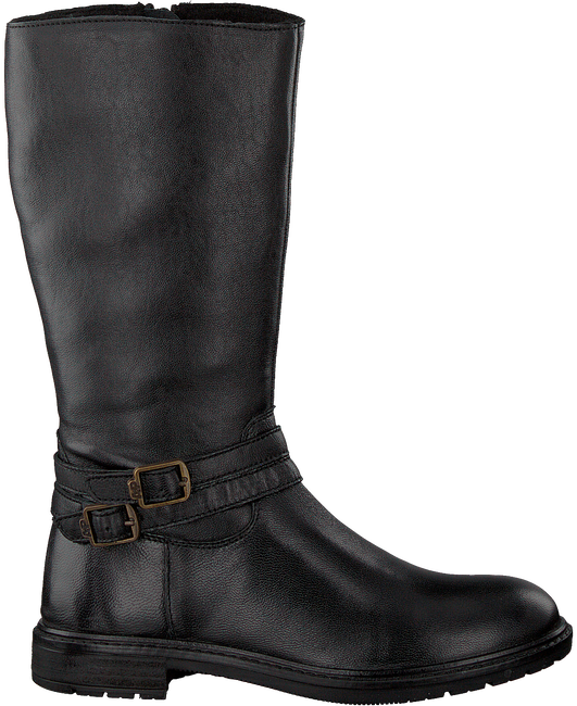Zwarte APPLES & PEARS Lange laarzen EVORA  - large