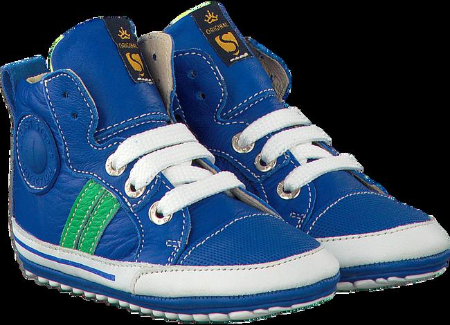 Blauwe SHOESME Babyschoenen BP7W002  - large