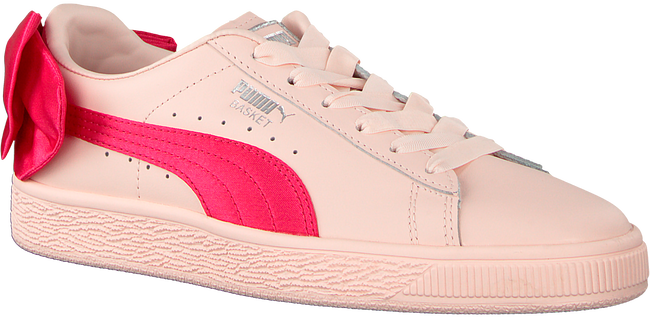 Roze PUMA Sneakers BASKET BOW JR - large