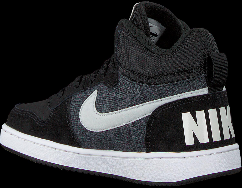 Zwarte NIKE Sneakers COURT BOROUGH MID (KIDS) | Omoda
