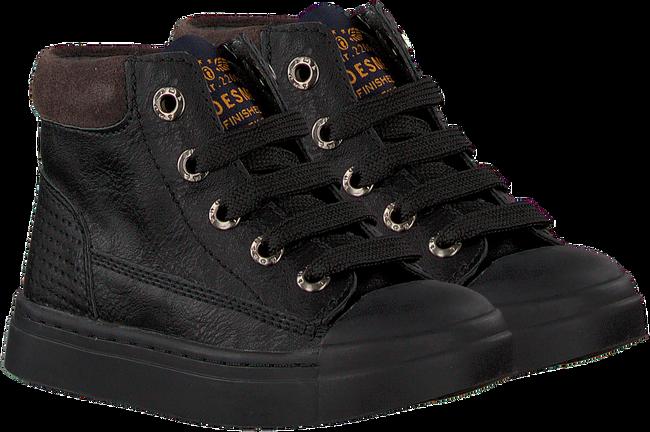 Zwarte SHOESME Veterschoenen SH9W030  - large