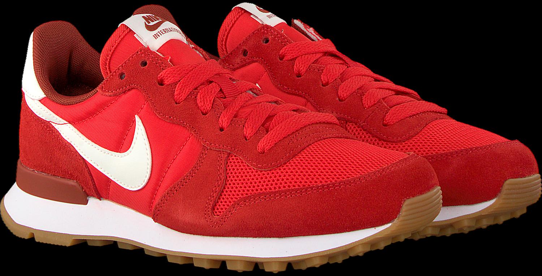 Rode NIKE Sneakers INTERNATIONALIST MID DAMES | Omoda