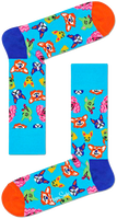 Blauwe HAPPY SOCKS Sokken FUNNY DOG  - medium