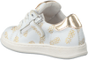 Witte CLIC! Sneakers 9187 - small