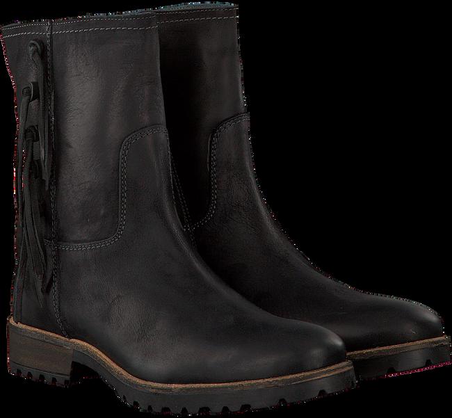 Zwarte GIGA Lange laarzen 8721  - large