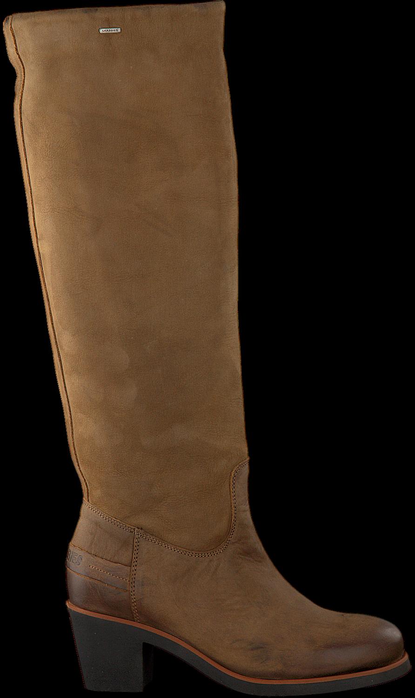 Cognac SHABBIES Lange laarzen 193020018 | Omoda