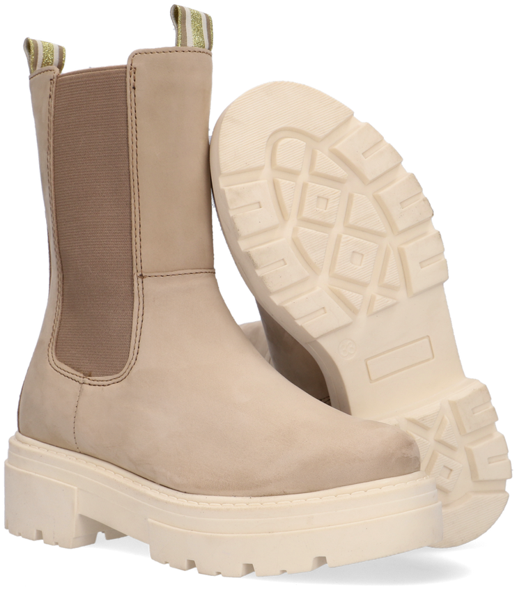 Taupe WYSH Chelsea boots SUZAN  - larger