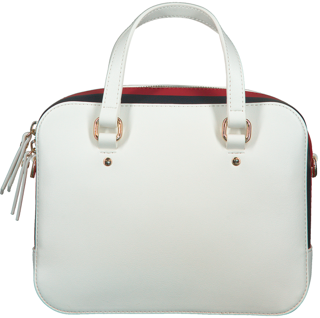 Witte TOMMY HILFIGER Schoudertas TH CORPORATE MINI TRUNK  - large