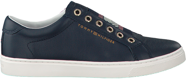 TOMMY HILFIGER SNEAKERS ICONIC METALLIC ELASTIC SNEAKE - large