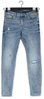 Blauwe SUMMUM Slim fit jeans TAPERED JEANS RAIN DENIM