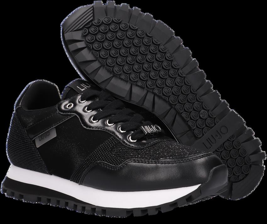 Zwarte LIU JO Lage sneakers WONDER 1  - larger
