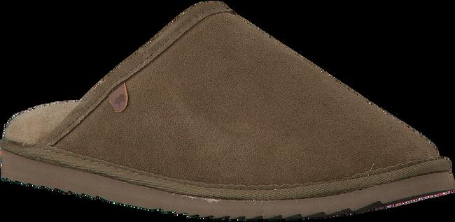 Groene WARMBAT Pantoffels CLASSIC UNISEX SUEDE  - large