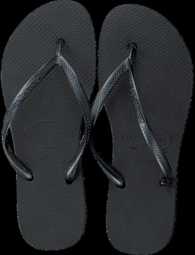 Zwarte HAVAIANAS Slippers SLIM WOMEN - larger