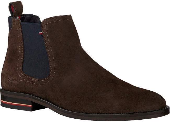 Bruine TOMMY HILFIGER Chelsea boots SIGNATURE HILFIGER CHELSEA  - large