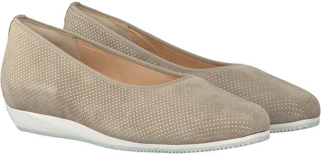 Beige HASSIA Instappers 1406  - large