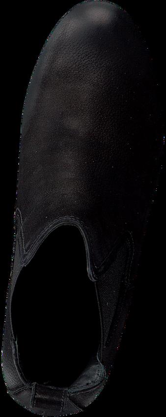 Zwarte PAUL GREEN Enkellaarsjes 9683  - larger