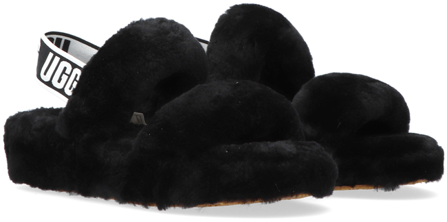 Zwarte UGG Pantoffels W OH YEAH  - large