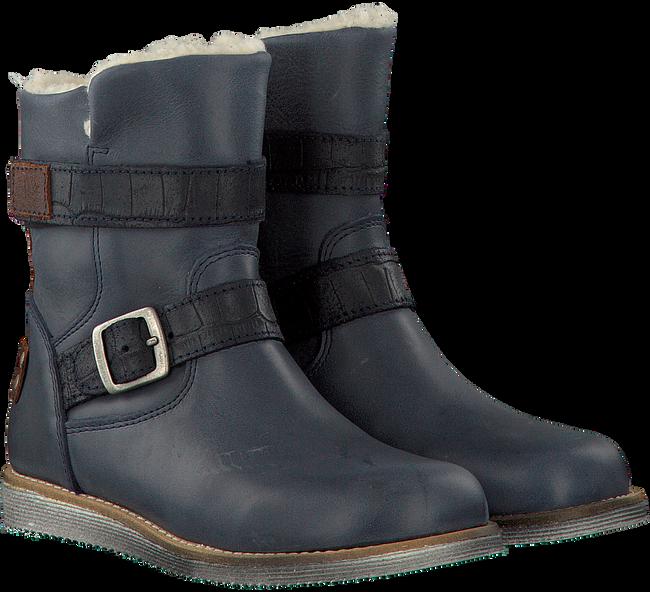 Blauwe KANJERS Lange laarzen 5215RP  - large