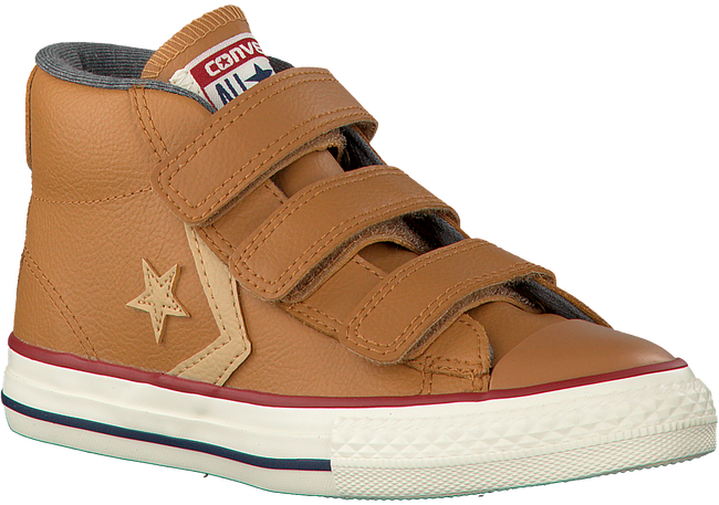 Cognac CONVERSE Sneakers STAR PLAYER EV 3V OX KIDS - large