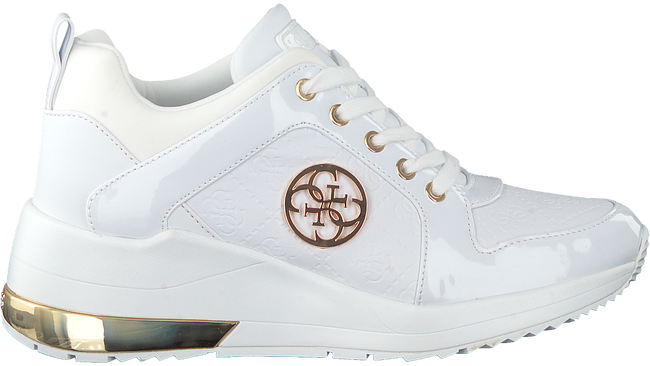 Witte GUESS Lage sneakers JARYDS