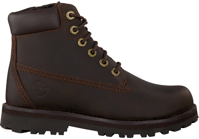 Bruine TIMBERLAND Veterboots COURMA KID TRADITIONAL 6  - large