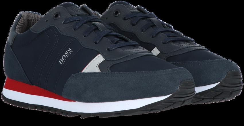 Blauwe BOSS Sneakers PARKOUR RUNN MX  - larger