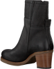 Zwarte SHABBIES Enkellaarsjes 182020233 SHS0742  - small