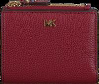 9cf03780859 Rode MICHAEL KORS Portemonnee MONEY PIECES MD SNAP BILLFOLD - medium