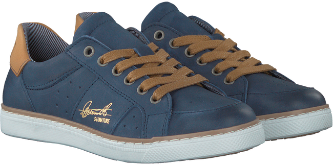 Blauwe BULLBOXER Sneakers AGM008  - large
