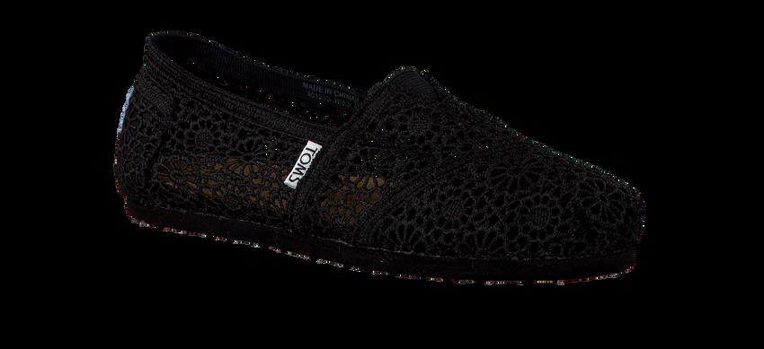 Zwarte TOMS Espadrilles MAROCCO CROCHET  - larger