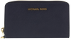 Blauwe MICHAEL KORS Portemonnee LG FLAT MF PHONE CASE - small