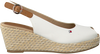 Witte TOMMY HILFIGER Espadrilles ICONIC ELBA BASIC SLING BACK  - small