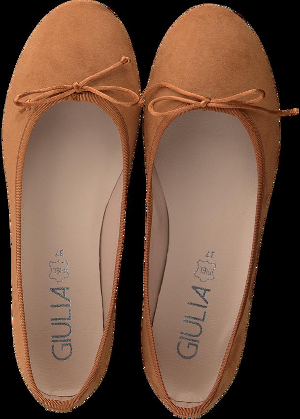 Cognac GIULIA Ballerina's G.12.BALLERINA  - larger
